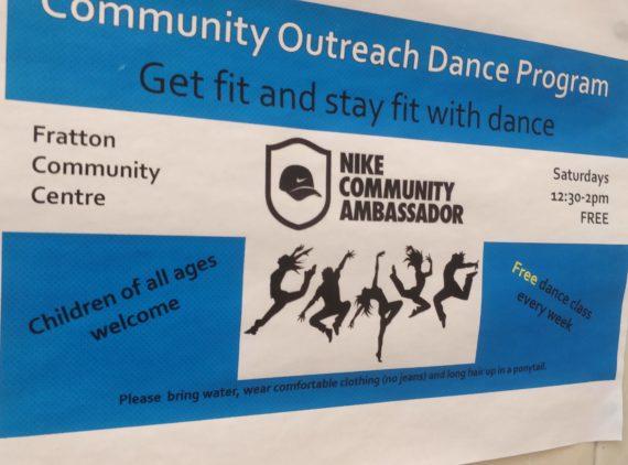 NIKE Community Outreach Dance Program